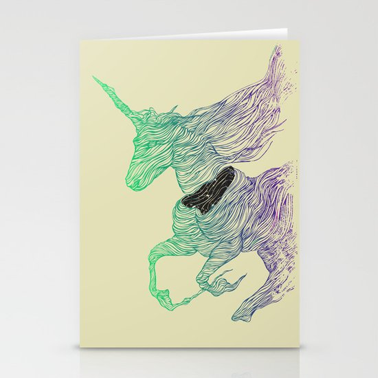 Dissolve Stationery Cards