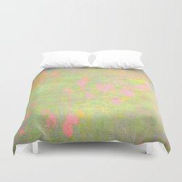 pastel girl pattern Duvet Cover