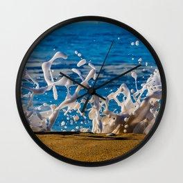 Wedge Wash Wall Clock