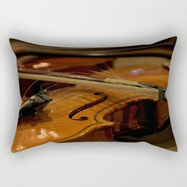 Frayed Bow Rectangular Pillow