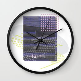 Spiraling stairs Wall Clock
