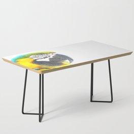 Macaw portrait Coffee Table