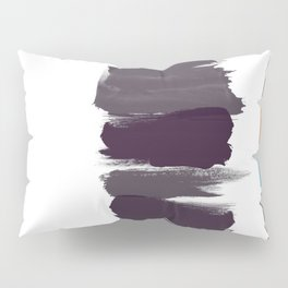 Bold brushstrokes with mosaic stripes Pillow Sham