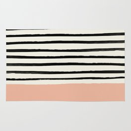 Peach x Stripes Rug
