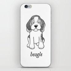 Dog Breeds: Beagle iPhone & iPod Skin