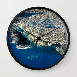 Lemon Shark Lunch Wall Clock