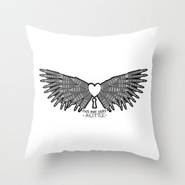Dilemma (remix) Throw Pillow