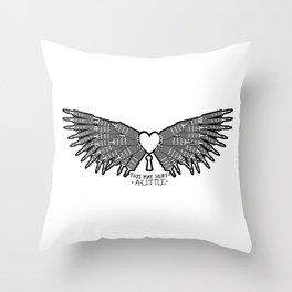 Dilemma (remix) Throw Pillow