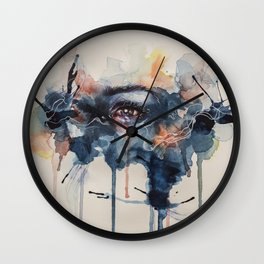 Sad Day Wall Clock