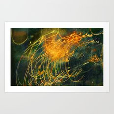 Light/Motion Long Exposure Study - #6 Art Print