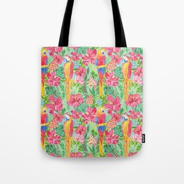 Land Of The Giant Hibiscus Tote Bag