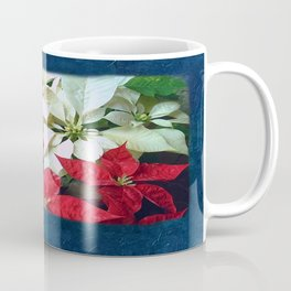 Mixed color Poinsettias 1 Blank P6F0 Coffee Mug
