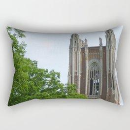 Trees and Tower Rectangular Pillow