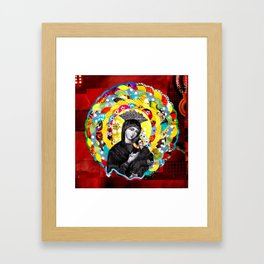 Nossa Senhora do Perpétuo Socorro (Our Lady of Perpetual Help) Framed Art Print