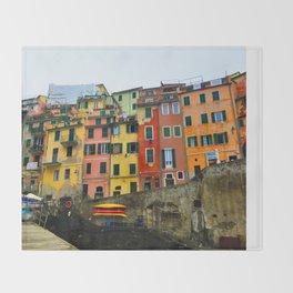 Cinque Terre - Riomaggiore Throw Blanket