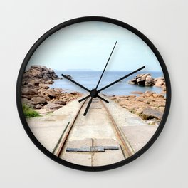 The stranger away Wall Clock