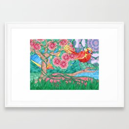 Life Is Complicated Framed Art Print