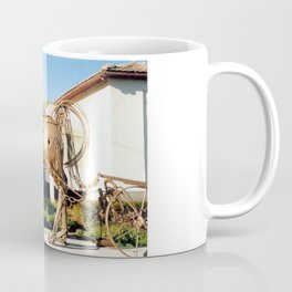 Horse & Plough by Shimon Drory Coffee Mug