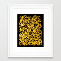 pasta Framed Art Prints featuring pasta by clemm