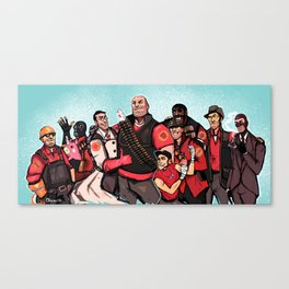 TEAM Canvas Print