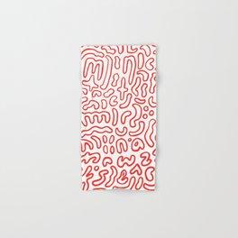 Wiggly Alphabet Pattern Hand & Bath Towel
