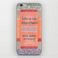 Coral Treat  iPhone & iPod Skin