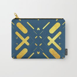 Symmetrical Colorful Lines XIV Carry-All Pouch