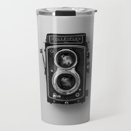 Old Camera (Black and White) Travel Mug