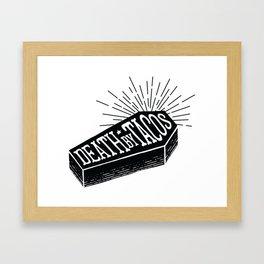 Death by Tacos Framed Art Print