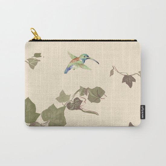 Ivy & hummingbird Carry-All Pouch