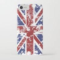 uk iPhone & iPod Cases featuring Grunge UK by Sitchko Igor
