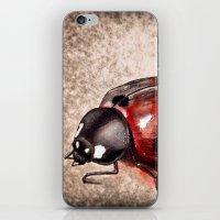 ladybug iPhone & iPod Skins featuring Ladybug by Werk of Art