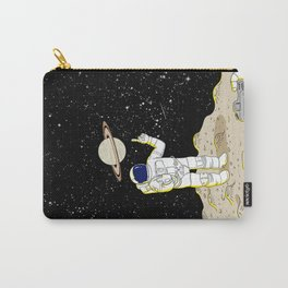 Posing Astronaut  Carry-All Pouch