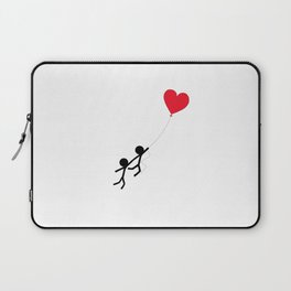 Love is in the air by Oliver Henggeler Laptop Sleeve