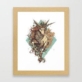 Myrtle Framed Art Print
