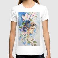 sakura T-shirts featuring Sakura by Hitomi