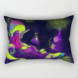 "The ""Young"" Alchemist Rectangular Pillow"