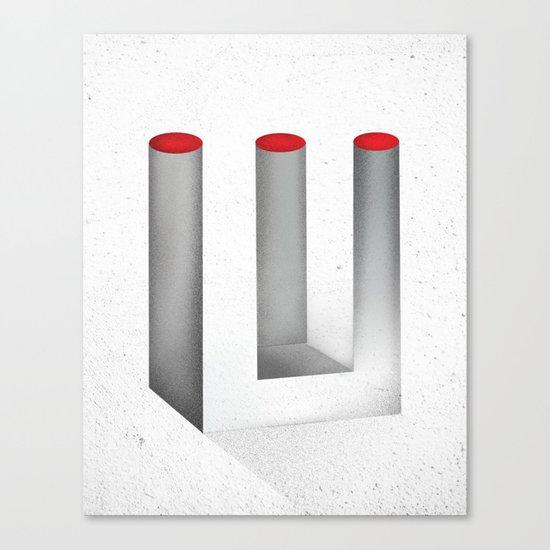 Optical Illusion no.2 Canvas Print