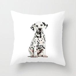 Cute Dalmatian 6 Throw Pillow