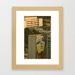 VIEWS of LOS ANGELES Framed Art Print