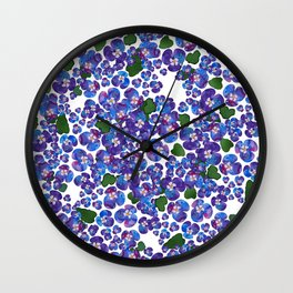 MENEKSE_WHITE Wall Clock