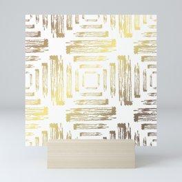 Golden Decor Mini Art Print