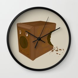 Chocolate Brownie Wall Clock