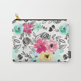 Wildflower Floral Carry-All Pouch