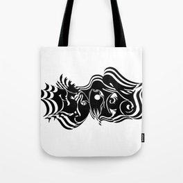 Psycho vibrate Tote Bag