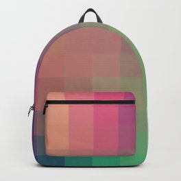 Abstract Rainbow Turehu Backpack