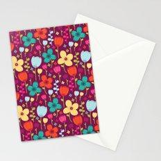 Floral Burst Stationery Cards
