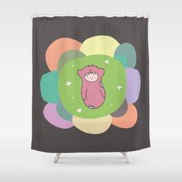Babe Shower Curtain