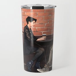Cofee + Love Travel Mug