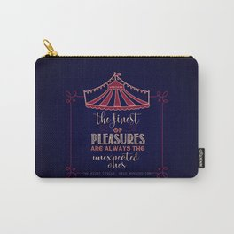 The night circus - Erin Morgenstern Carry-All Pouch